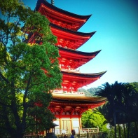 Miyajima, pagode