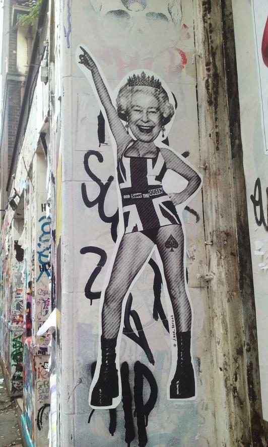 London Brick Lane #Queen