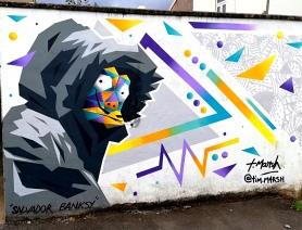 #upfest2018 #streetart #bristol #festival #sprayart #tim.m4rsh